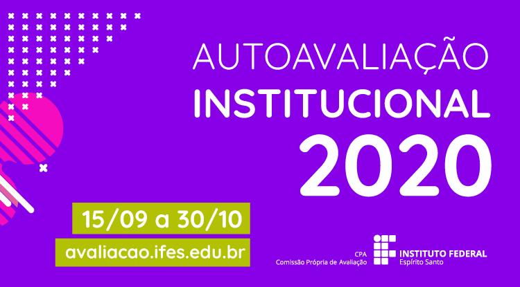 Autoavaliação Institucional 2020